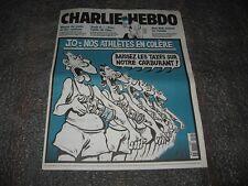 MAGAZINE  *CHARLIE HEBDO N°430 SEPTEMBRE 2000 *JO:NOS ATHLETES EN COLERE*