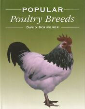 SCRIVENER DAVID POULTRY & CHICKENS BOOK POPULAR POULTRY BREEDS hardback BARGAIN