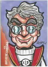 Fireball XL5 Gerry Anderson Sketch Card drawn by Solly Mohamad