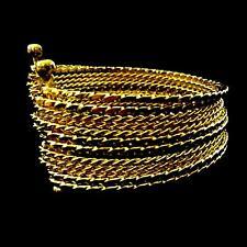Bollywood Bauchtanz Belly Dance Armspange Armreifen Armband Sari Anarkali GOLD