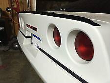 """Chevrolet C4 Corvette 84-96 Rear Trunk Lip Spoiler 3/4"""" Flare End"""