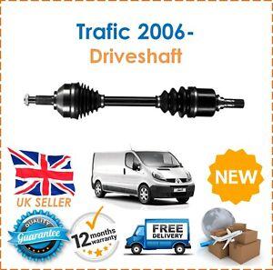 For Renault Trafic 2.0DCi 90 115 2006- Front Left Passenger Side Drive Shaft New