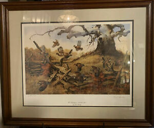 Fred Sweney - Hedgehoppers - The Hedgehoppers - Bobwhite Quail - Artist's Proof