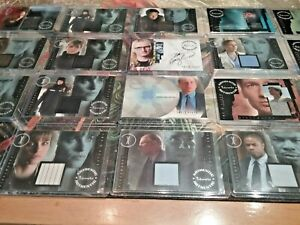 The X-Files autograph card, costume pieceworks cards, Gillian Anderson PICK ONE