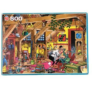 The Bachelor Jigsaw Puzzle 500 Jan Van Haasteren Humour Jumbo Single Man House