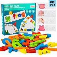 Preschool Learning Toys for 2 3 4 Year Old Toddlers, Educational Wooden Puzzle.