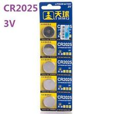 3V CR2025 DL2025 ECR2025 3 Volt Button Coin Cell Battery for CMOS watch toy x5