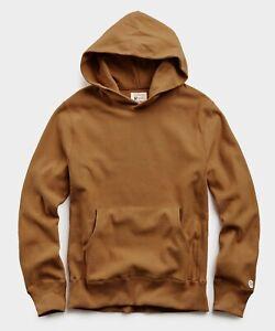 Todd Snyder x Champion Pecan Brown Pullover Hoodie Sweatshirt  - Men's Large