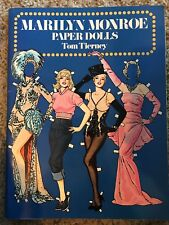 Vintage 1979 Marilyn Monroe Paper Dolls; Tom Tierney; 1st Edition; UNCUT