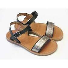 Leather Upper Shoes Narrow Width Sandals for Girls Buckle