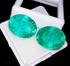 Natural Emerald Loose Gemstone 8 to 10 cts 2 Pair Certified Best Offer