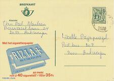 BELGIUM ANTWERPEN E 2000 SC 1980 (Postal Stationery 6,50 F, PUBLIBEL 2744N)