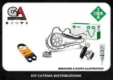 Kit catena distribuzione Punto 1.3 multijet Fiat + pompa e cinghia servizi INA