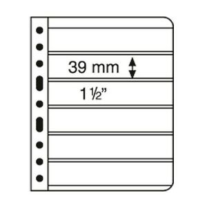 Lighthouse Vario Plus 6S storage sheets. Pack of 5 Free Shipping.