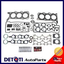 Head Gasket Set Fix Kit Bolts Graphite For 99-05 Chevrolet Suzuki 2.5L V6 H25A