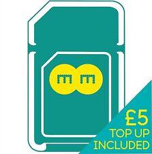 EE UK 4G Pay As You Go Multi Sim Card (Standard/Micro/Nano)  + £5 Credit