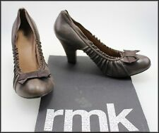RMK WOMEN'S HIGH HEEL DRESS DARK BROWN  FASHION SHOES SIZE 10 NEW