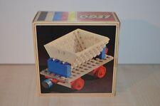 01088 LEGO Trains 4.5V Train Cars vintage - Tipping Waggon 125 + BOX & PLAN MIB
