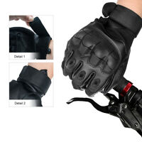 Thermal Motorbike Motorcycle Leather Gloves Waterproof Protection Winter Summer