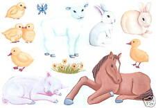 Nursery Animals Creative Wall Art Transfer Wall Decor Tatouage