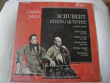 CASALS PLAYS SCHUBERT STRING QUINTET IN C MAJOR, OP.163 VINYL LP 1971 TURNABOUT