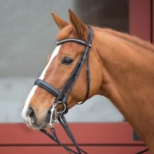Kieffer Ultrasoft Double Bridle - Cob - Black