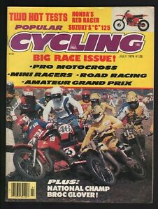 1978 July Popular Cycling - Vintage Motorcycle Magazine