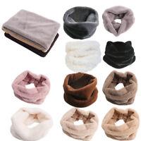 1PC Novelty Women Ladies Trendy Winter Warm Ring Neck Warmer Wrap Collar Scarf