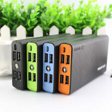 Tragbare 50000mAh Mobile Power Bank 4 USB LED External Akku Ladegerät Für iPhone