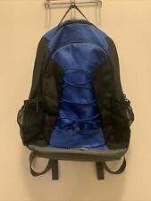 Base Camp Blue Black Backpack Laptop Bag
