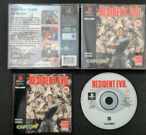 Resident Evil : Sony PlayStation Black Label SLES 00200