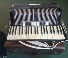 Vintage Hohner Verdi III M 120 Bass Accordion in Case Made in Germany