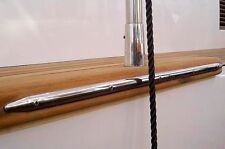 """Stainless Steel Rubbing Strake for your Boat - 8"""" / 20cm"""