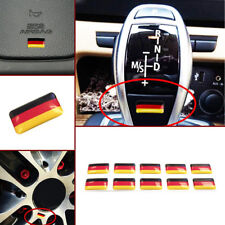 10x Germany Flag Sticker Emblem Badge Decor for German Car AUDI BMW Volkswagen