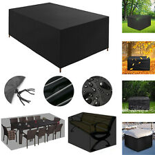 More details for waterproof garden patio furniture cover rattan table cube seat covers outdoor uk