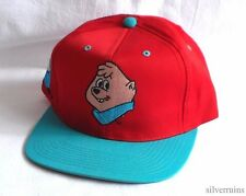 ALVIN AND THE CHIPMUNKS Vintage Hat 90's Snapback Baseball THEODORE Cartoon