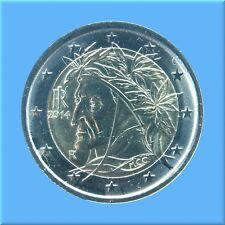 2 Euro Kursmünze Italien 2014 - Dante