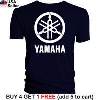 Yamaha Factory Racing T-Shirt Banshee Raptor YZ 80 85 125 250 450 R1 R6 FZR Team
