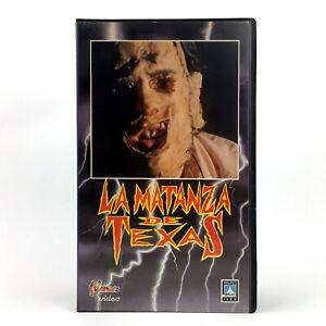 LA MATANZA DE TEXAS CHAINSAW MASSACRE - TOBE HOOPER 1974 SLASHER TERROR CULT VHS