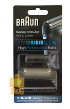 Braun 1000/2000 Series 10B / 20B Replacement Foil and Cutter Pack