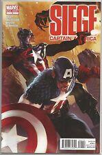 Captain America #1 : Siege : Marvel comic book