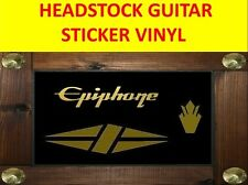 KIT EPIPHON CROWN DIAMOND GOLD LES PAUL STICKER VISIT OUR STORE WITH MORE MODEL