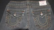 True Religion Billy Jeans Women's Waist 30 Flap Pocket Multi Colored stitching