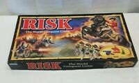 Risk the World Conquest Board Game Army Cavalry Cannon Infantry Figures Complete