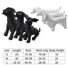 Premium Dog Mannequin Stuffed Display Model Clothing Apparel Collar  HOT