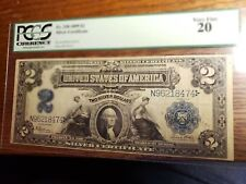 US 1899 $2 Silver Certificate FR 258 PCGS 20 VF