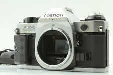 [ Exc +++++ ] Canon AE-1 Program Silver Body SLR 35mm Film Camera  From JAPAN