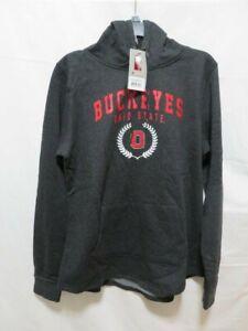 Women's Ohio State Buckeyes Colosseum Logo Hoodie - Black -Size Large