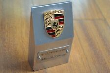 Genuine Aluminum PORSCHE PAPERWEIGHT – PYLON - TROPHY with VIN