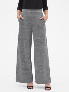 BANANA REPUBLIC WOMEN'S Textured Wide Leg Knit Pants - #42778-1